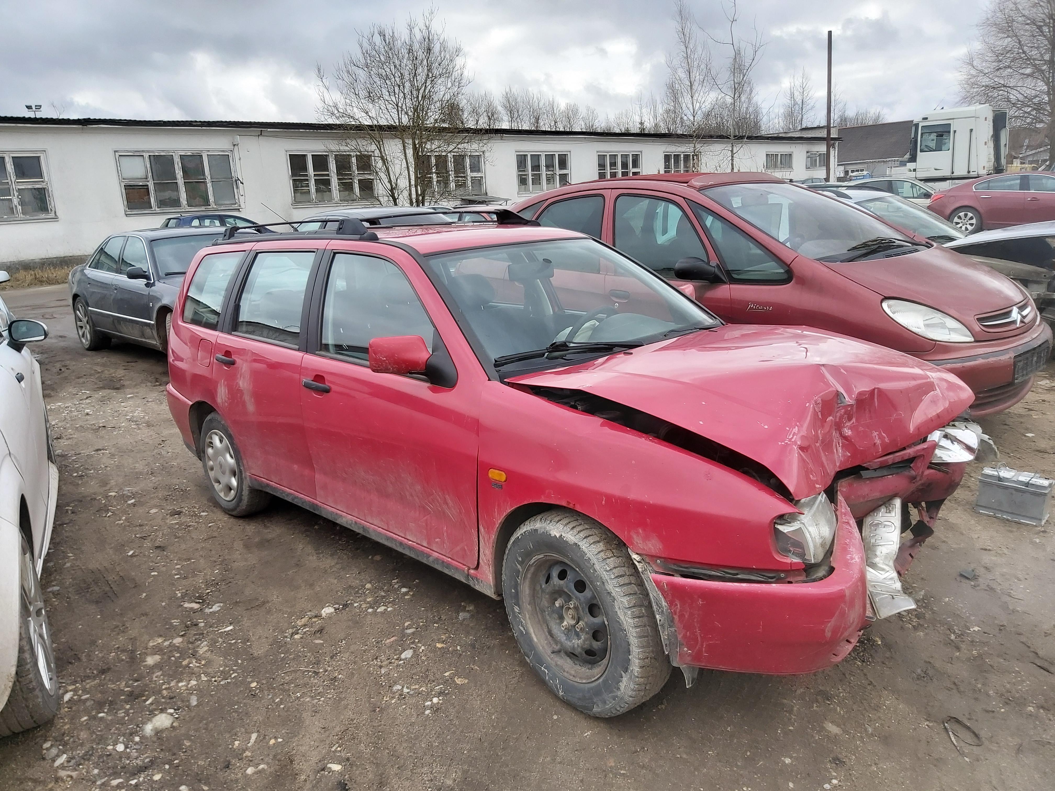 Naudotos automobilio dalys Seat CORDOBA 1998 1.9 Mechaninė Universalas 4/5 d. Raudona 2020-2-20