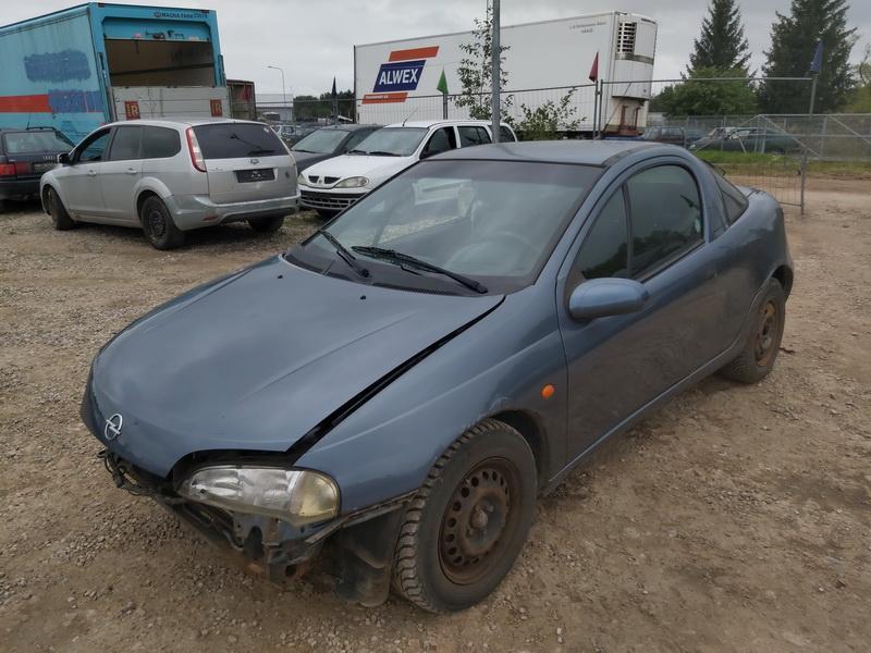 Naudotos automobiliu dallys Foto 4 Opel TIGRA 1999 1.6 Mechaninė Hečbekas 2/3 d. Melyna 2020-9-12 A5658
