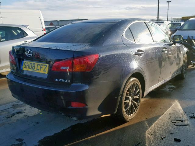 Naudotos automobilio dalys Lexus IS - CLASS 2008 2.2 Mechaninė Sedanas 4/5 d. Melyna 2020-5-05