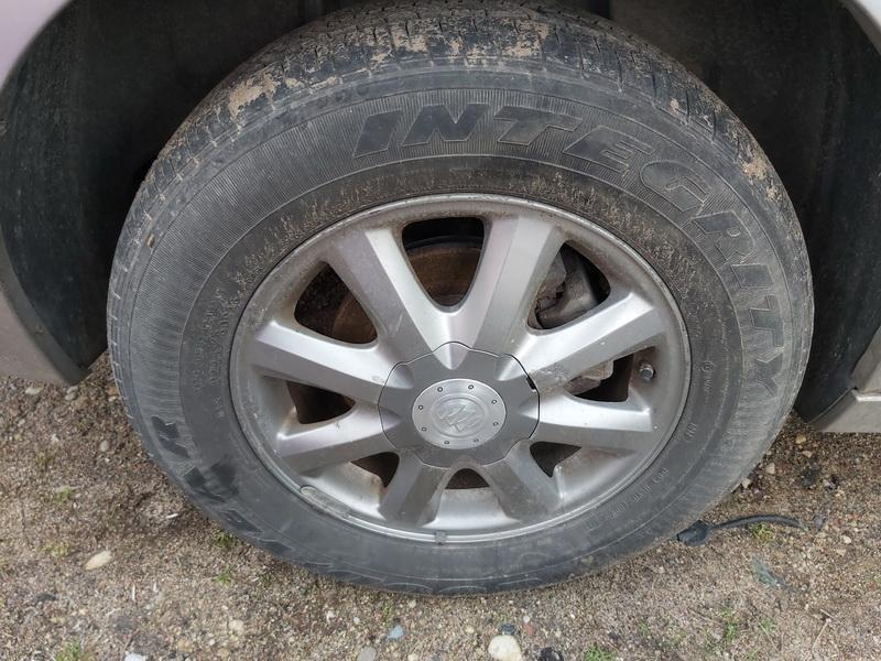 Naudotos automobiliu dallys Foto 9 Buick LACROSSE 2007 3.8 Automatinė Sedanas 4/5 d. Pilka 2020-1-14 A5010