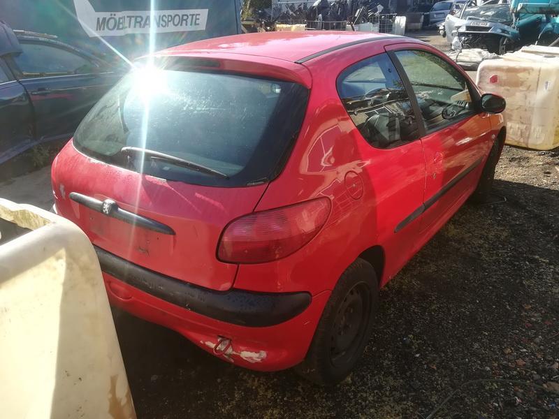 Naudotos automobilio dalys Peugeot 206 2001 1.9 Mechaninė Hečbekas 2/3 d. Raudona 2019-9-04