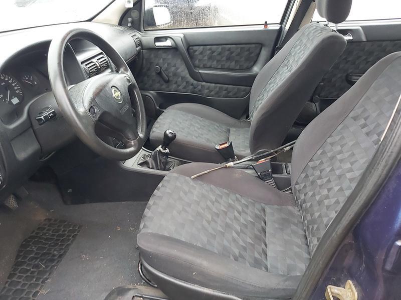 Naudotos automobiliu dallys Foto 5 Opel ASTRA 1999 1.7 Mechaninė Hečbekas 4/5 d. Melyna 2020-1-10 A5000