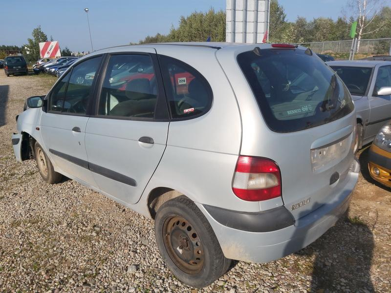 Naudotos automobiliu dallys Foto 8 Renault SCENIC 2000 1.9 Mechaninė Vienatūris 4/5 d. Pilka 2020-9-16 A5670