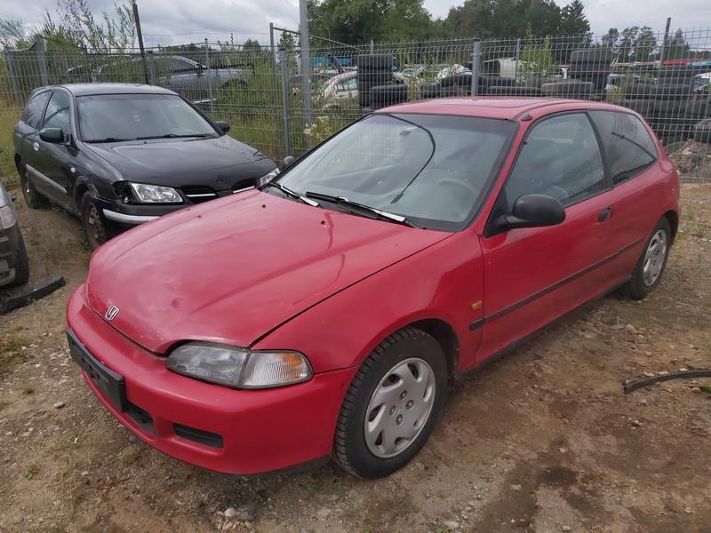 Used Car Parts Foto 4 Honda CIVIC 1993 1.5 Mechanical Hatchback 2/3 d. Red 2020-7-30 A5480