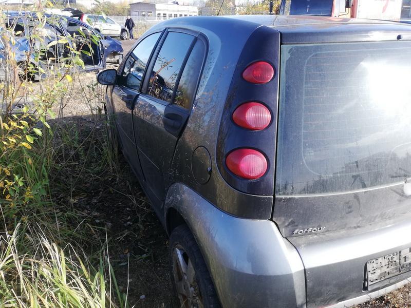 Naudotos automobiliu dallys Foto 8 Smart FORFOUR 2004 1.5 Mechaninė Hečbekas 4/5 d. Pilka 2019-10-18 A4844