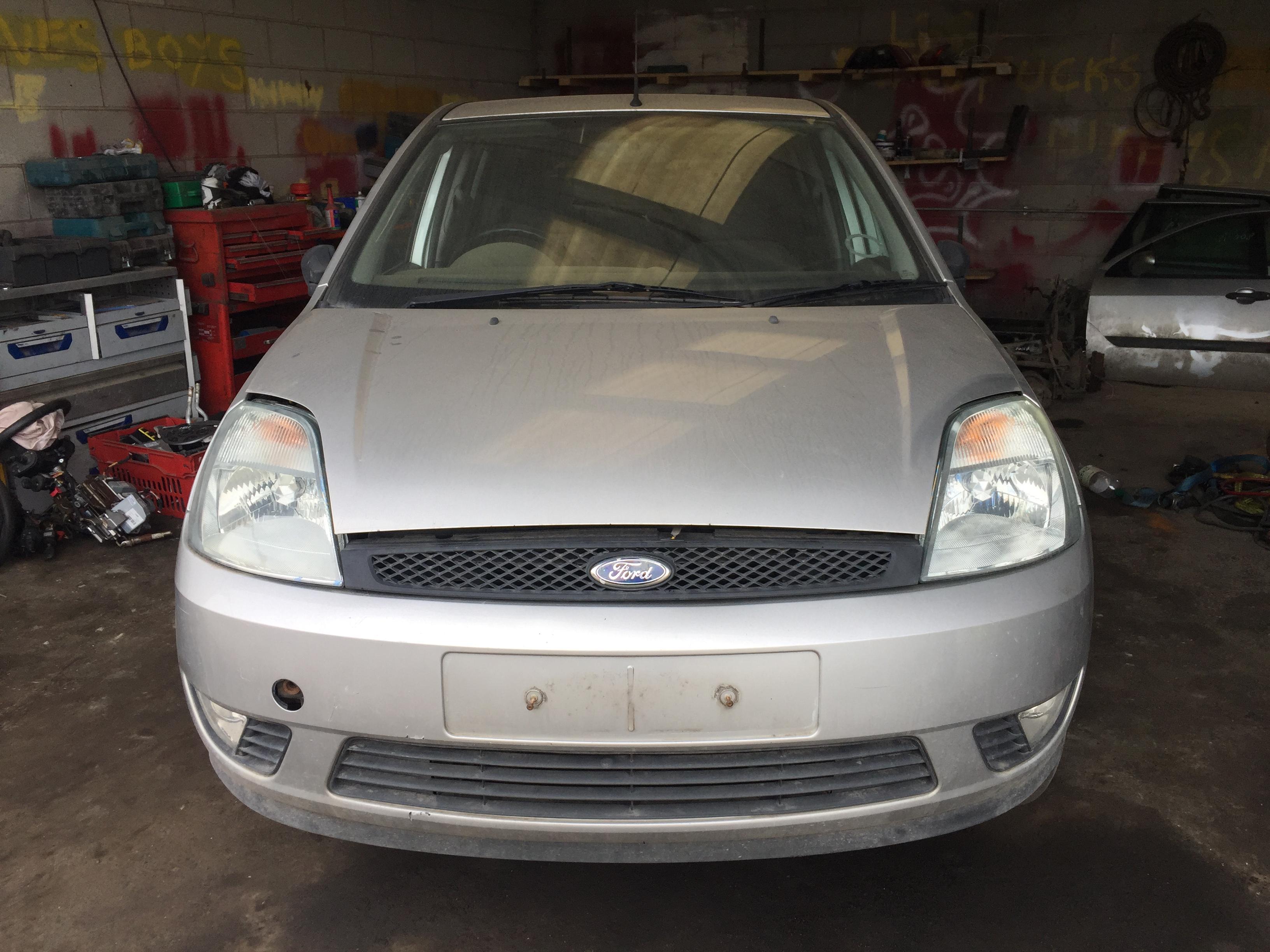 Naudotos automobilio dalys Ford FIESTA 2002 1.4 Mechaninė Hečbekas 4/5 d. Sidabrine 2018-8-04