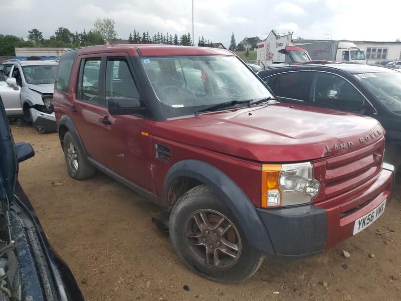 Naudotos automobilio dalys Land-Rover DISCOVERY 2006 2.7 Mechaninė Visureigis 4/5 d. Raudona 2020-7-21
