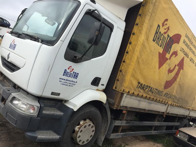Naudotos automobiliu dallys Foto 4 Truck - Renault MIDLUM 2003 6.2 Mechaninė Kita 2/3 d. Balta 2018-9-18 A4086