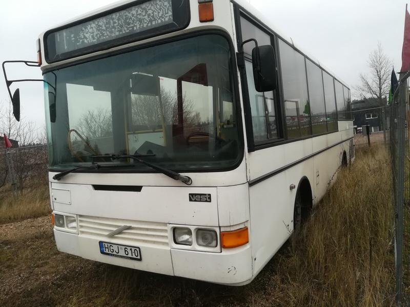 Naudotos automobiliu dallys Foto 3 Bus - Volvo B6 1993 5.5 Automatinė Kita 2/3 d. Balta 2019-11-28 A4933
