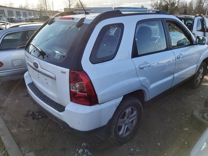 Naudotos automobilio dalys Kia SPORTAGE 2010 2.0 Mechaninė Visureigis 4/5 d. Balta 2020-2-04