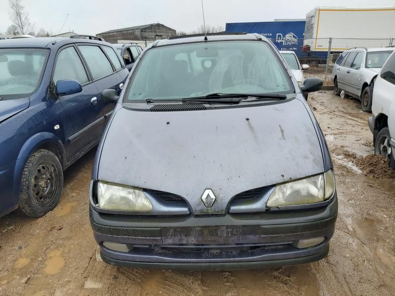 Naudotos automobilio dalys Renault SCENIC 1998 1.9 Mechaninė Vienatūris 4/5 d. Melyna 2020-2-07
