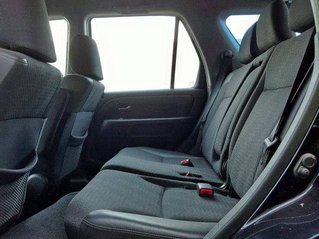 Подержанные Автозапчасти Foto 10 Honda CR-V 2004 2.0 машиностроение напрямик 4/5 d. черный 2019-3-14 A4366