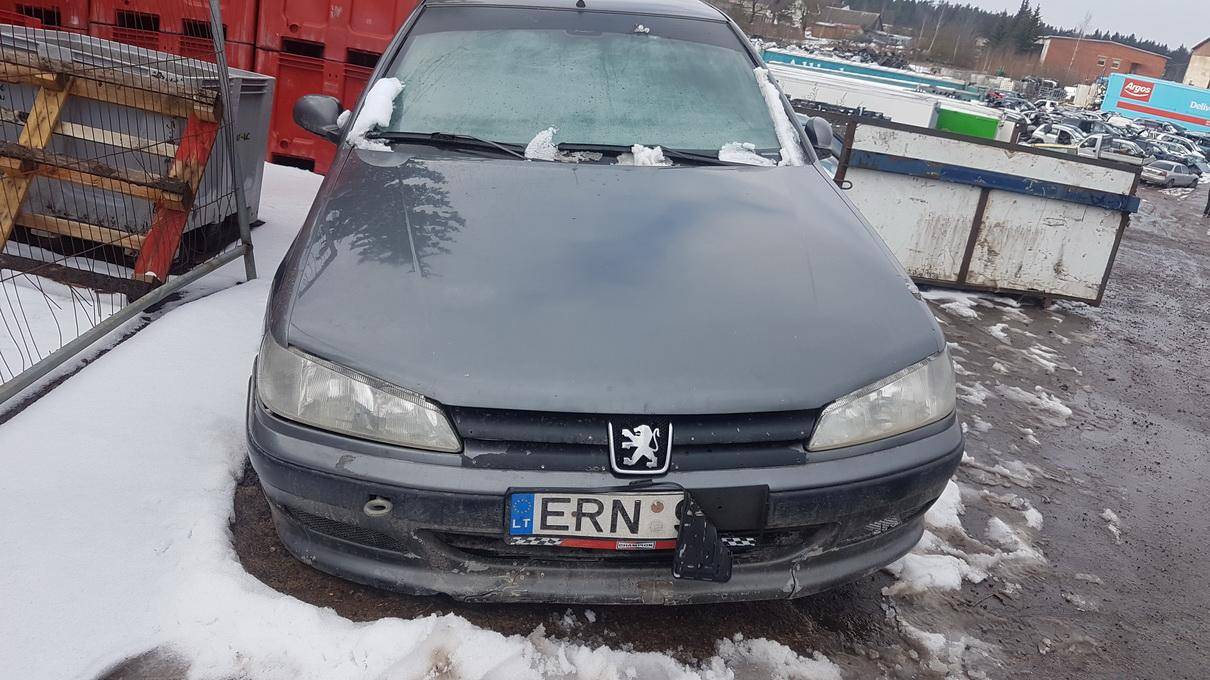 Naudotos automobilio dalys Peugeot 406 1996 2.1 Mechaninė Sedanas 4/5 d. Pilka 2017-3-08