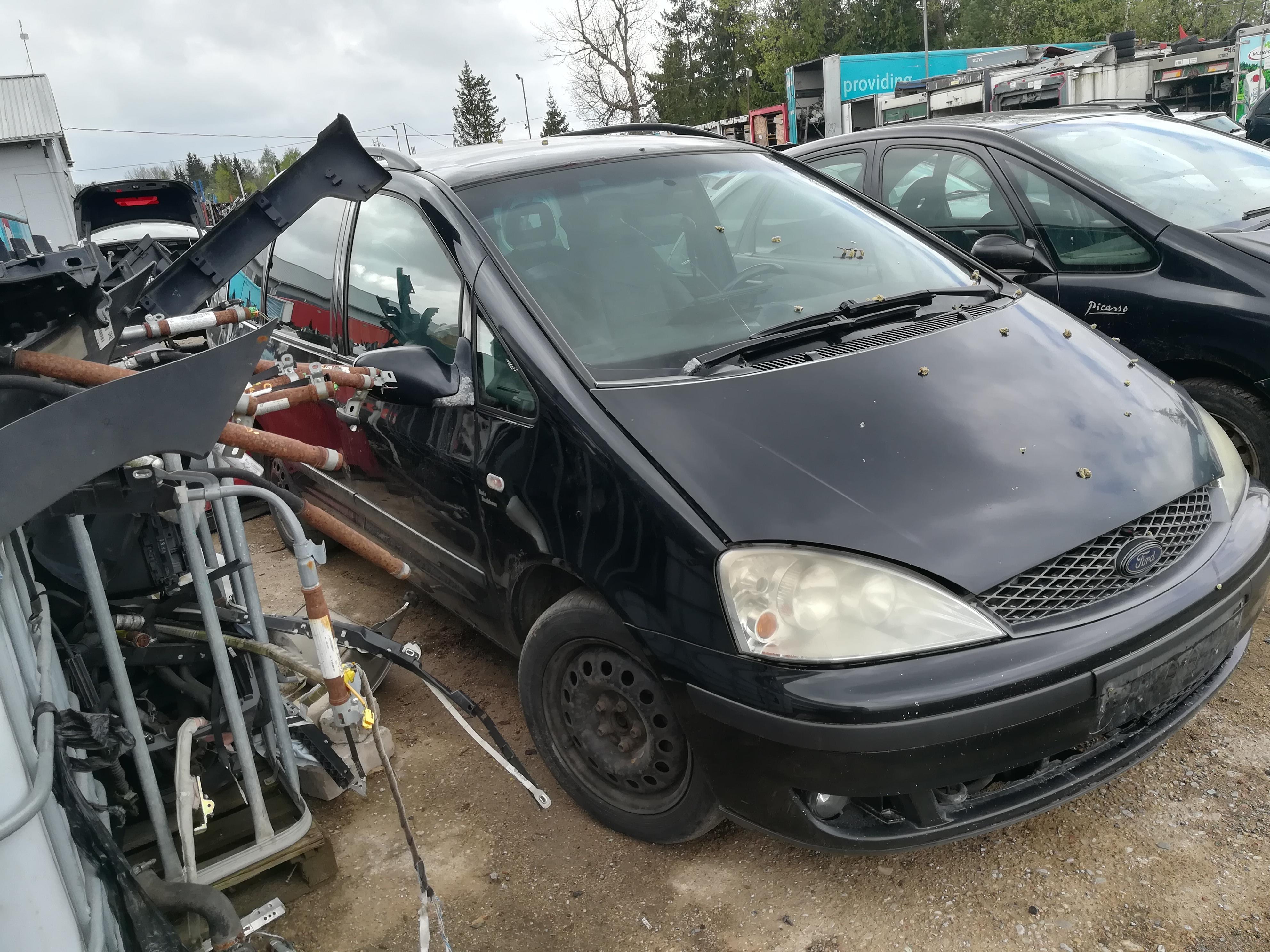 Naudotos automobiliu dallys Foto 3 Ford GALAXY 2001 1.9 Mechaninė Vienatūris 4/5 d. Juoda 2019-5-02 A4465
