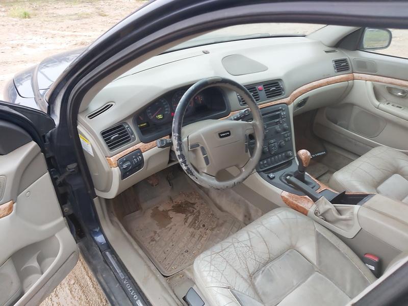 Naudotos automobilio dalys Volvo S80 1999 2.4 Mechaninė Sedanas 4/5 d. Melyna 2020-11-12