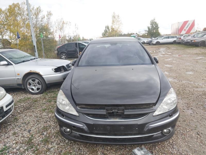 Naudotos automobiliu dallys Foto 3 Peugeot 607 2007 2.7 Automatinė Sedanas 4/5 d. Juoda 2020-10-15 A5760