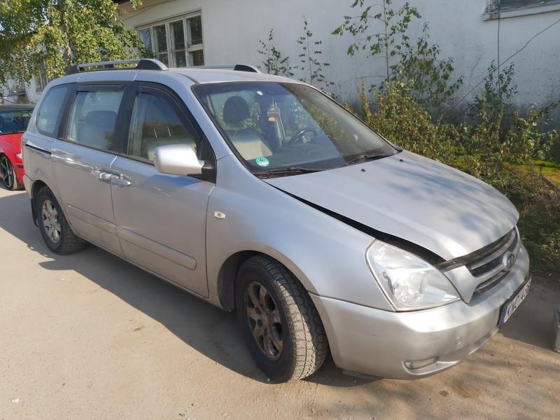 Naudotos automobilio dalys Kia CARNIVAL 2007 2.9 Mechaninė Vienatūris 4/5 d. Pilka 2020-9-25