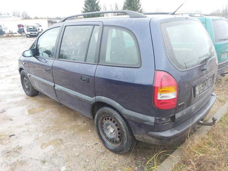 Подержанные Автозапчасти Foto 9 Opel ZAFIRA 2000 2.0 машиностроение минивэн 4/5 d. синий 2020-11-18 A5831