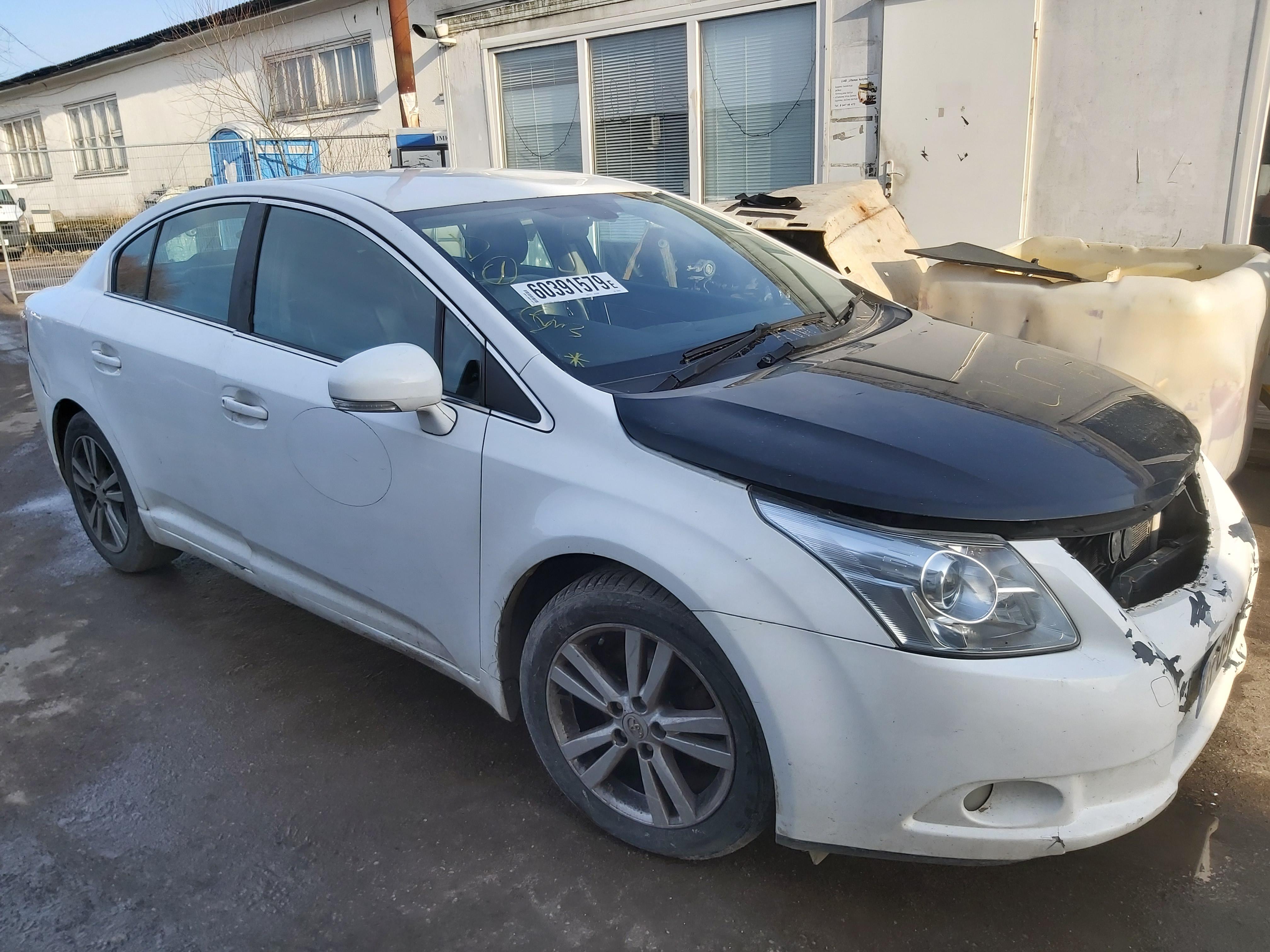 Naudotos automobilio dalys Toyota AVENSIS 2009 2.0 Mechaninė Sedanas 4/5 d. Balta 2020-3-02