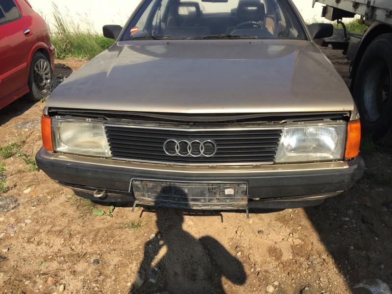 Naudotos automobilio dalys Audi 100 1986 2.2 Mechaninė Sedanas 4/5 d. Ruda 2018-7-20