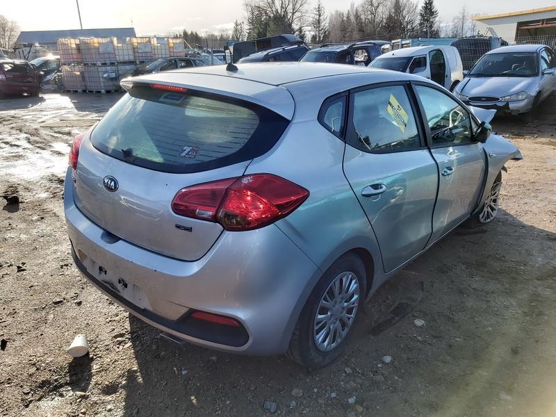 Naudotos automobilio dalys Kia CEED 2014 1.4 Mechaninė Hečbekas 4/5 d. Sidabrine 2020-2-04