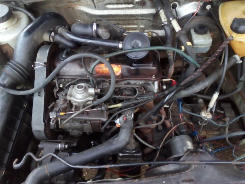 Naudotos automobilio dalys Volkswagen JETTA 1986 1.6 Mechaninė Sedanas 4/5 d. Sidabrine 2018-1-16