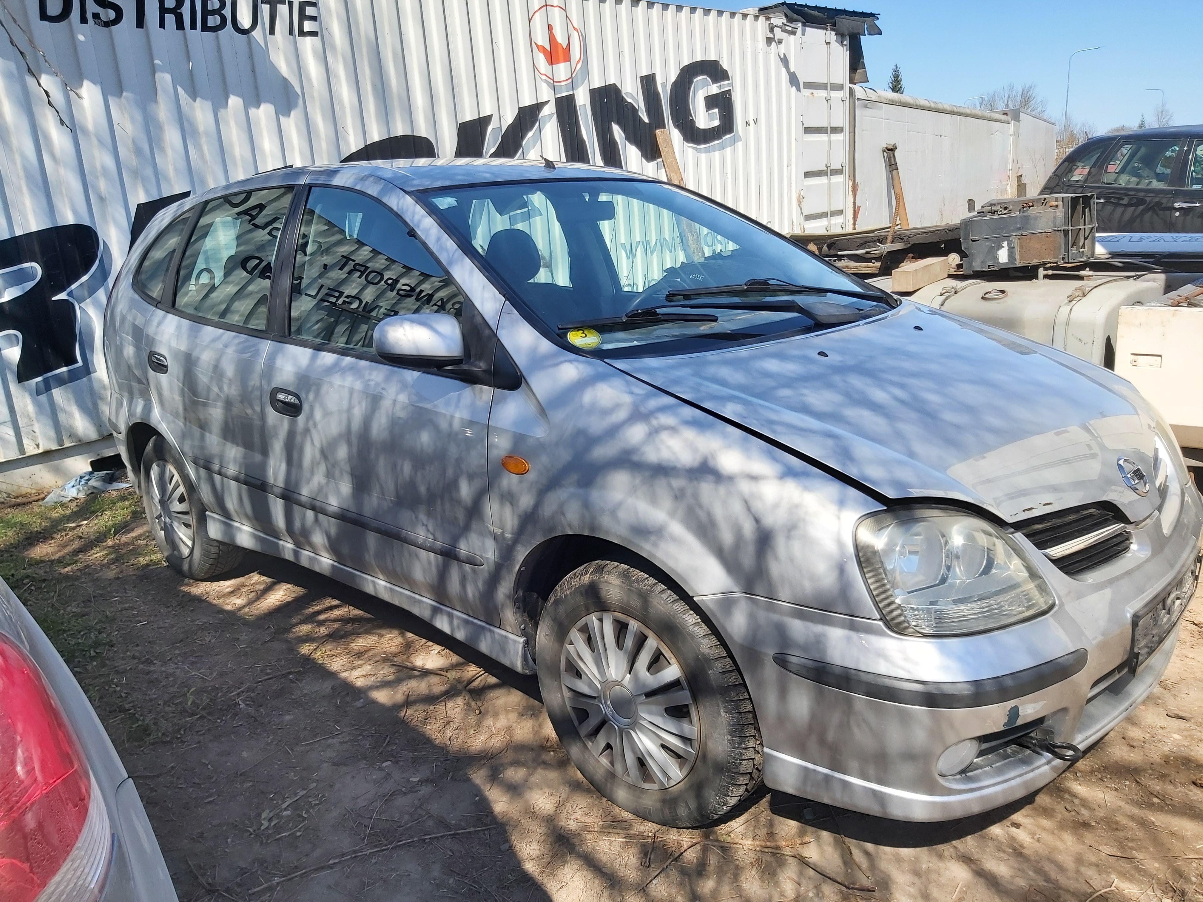 Naudotos automobilio dalys Nissan ALMERA TINO 2003 2.2 Mechaninė Vienatūris 4/5 d. Pilka 2020-4-22