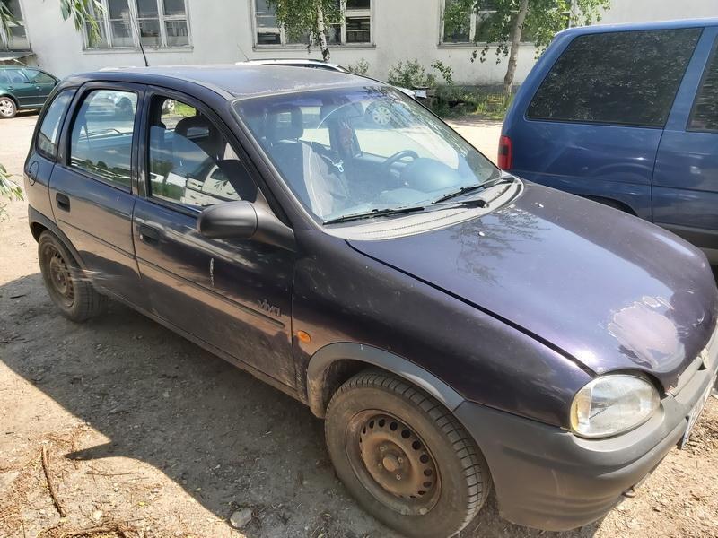 Naudotos automobilio dalys Opel CORSA 1996 1.4 Mechaninė Hečbekas 4/5 d. Violetine 2020-6-17