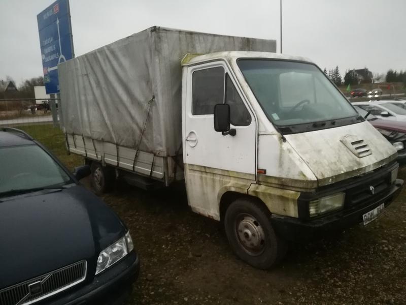Naudotos automobiliu dallys Foto 4 Renault MASTER 1996 2.5 Mechaninė Krovininis mikroautobusas 2/3 d. Balta 2019-11-28 A4932