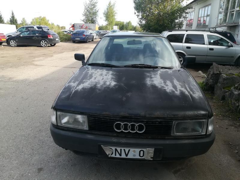 Naudotos automobiliu dallys Foto 1 Audi 80 1990 1.9 Mechaninė Sedanas 4/5 d. Juoda 2019-9-17 A4760
