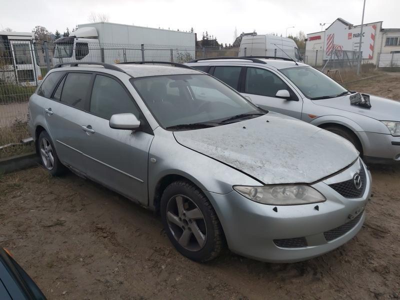 Naudotos automobilio dalys Mazda 6 2003 2.0 Automatinė Universalas 4/5 d. Pilka 2020-10-26