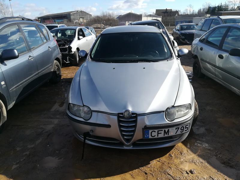 Naudotos automobilio dalys Alfa-Romeo 147 2001 1.6 Mechaninė Hečbekas 4/5 d. Sidabrine 2019-3-20