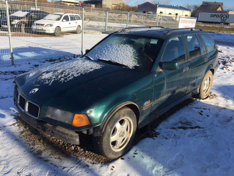 Naudotos automobiliu dallys Foto 3 BMW 3-SERIES 1996 1.8 Mechaninė Universalas 4/5 d. Zalia 2018-11-23 A4208