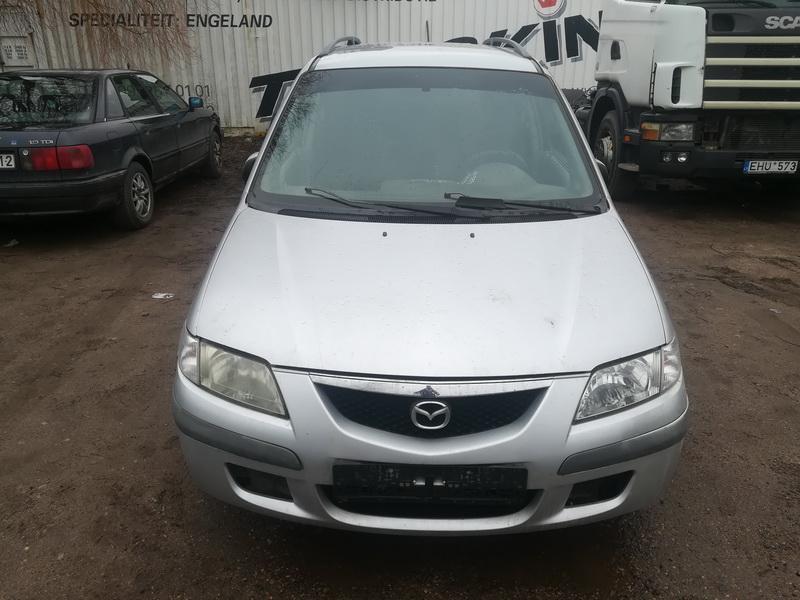 Naudotos automobilio dalys Mazda PREMACY 1999 2.0 Mechaninė Vienatūris 4/5 d. Pilka 2019-3-27
