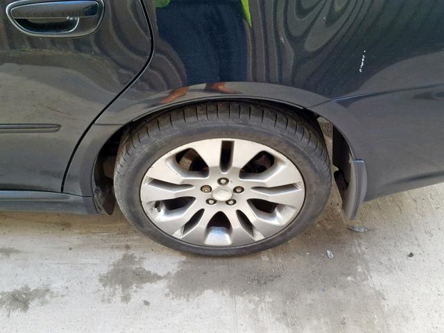 Naudotos automobiliu dallys Foto 8 Subaru LEGACY 2009 2.0 Mechaninė Universalas 4/5 d. Juoda 2019-4-03 A4402