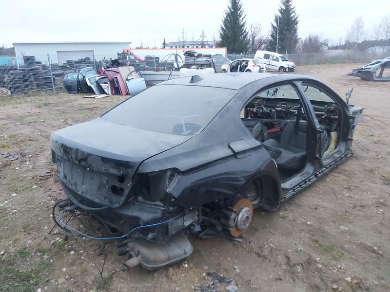 Naudotos automobilio dalys BMW 7-SERIES 2012 3.0 Automatinė Sedanas 4/5 d. Juoda 2020-11-16