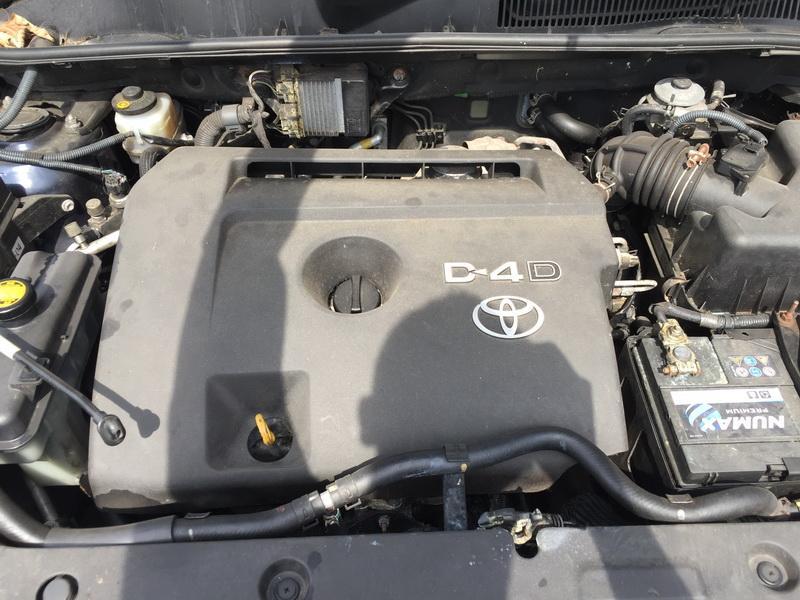Naudotos automobiliu dallys Foto 2 Toyota RAV-4 2008 2.2 Mechaninė Visureigis 4/5 d. Melyna 2018-6-04 A3842