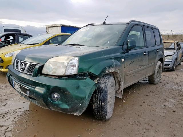 Naudotos automobilio dalys Nissan X-TRAIL 2005 2.2 Mechaninė Visureigis 4/5 d. Zalia 2019-11-22