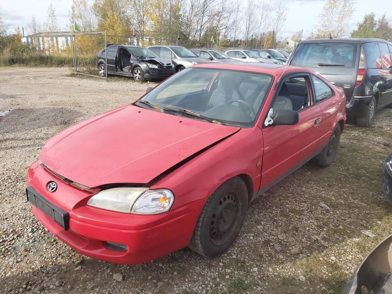 Naudotos automobiliu dallys Foto 2 Toyota PASEO 1997 1.5 Mechaninė Kupė 2/3 d. Raudona 2020-10-17 A5767