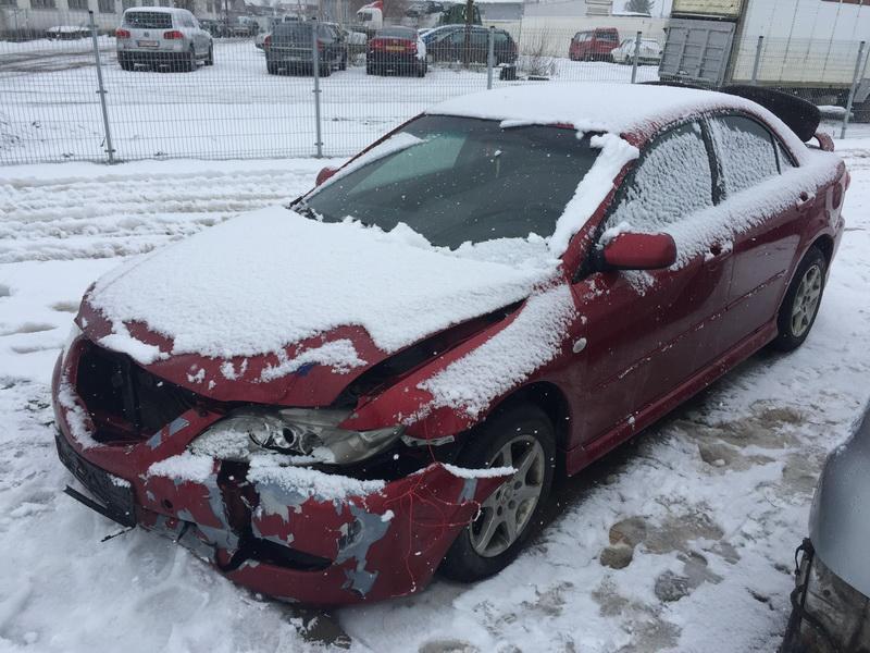 Naudotos automobiliu dallys Foto 3 Mazda 6 2003 2.3 Mechaninė Sedanas 4/5 d. Raudona 2019-2-08 A4311