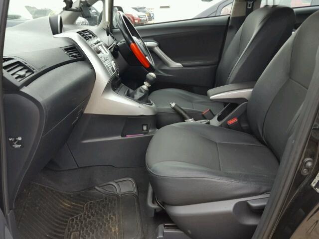 Naudotos automobilio dalys Toyota VERSO 2011 2.0 Mechaninė Vienatūris 4/5 d. Juoda 2018-8-31