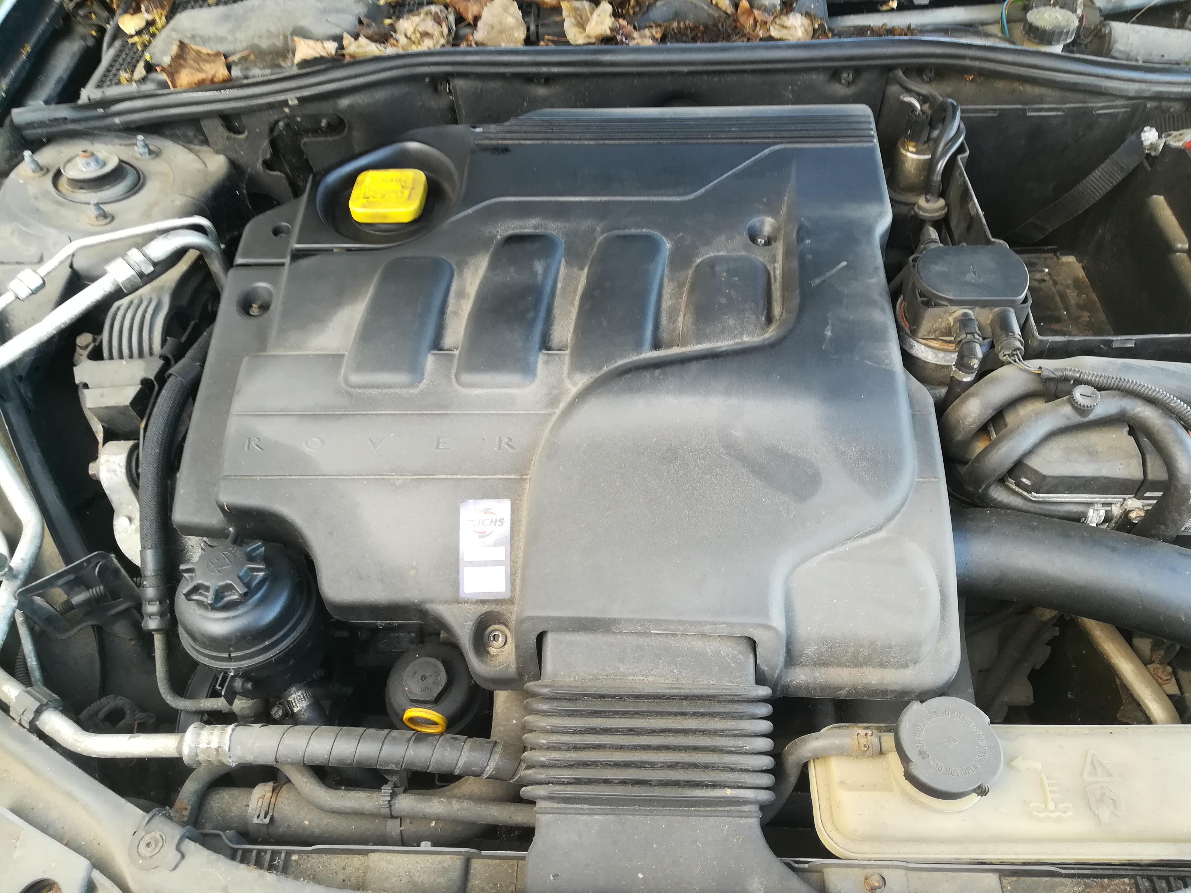 Naudotos automobiliu dallys Foto 2 Rover 75 2000 2.0 Mechaninė Sedanas 4/5 d. Melyna 2019-6-22 A4576