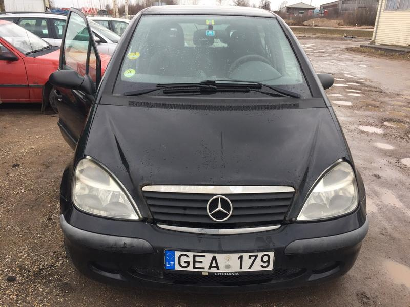 Naudotos automobilio dalys Mercedes-Benz A-CLASS 2002 1.7 Mechaninė Vienatūris 4/5 d. Juoda 2019-3-02
