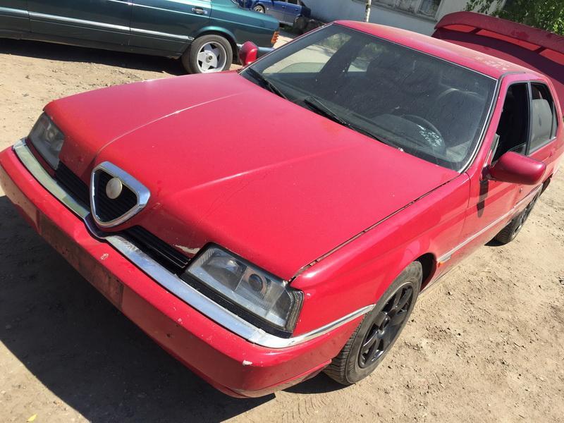 Подержанные Автозапчасти Alfa-Romeo 164 1995 2.5 машиностроение седан 4/5 d. красный 2018-5-28