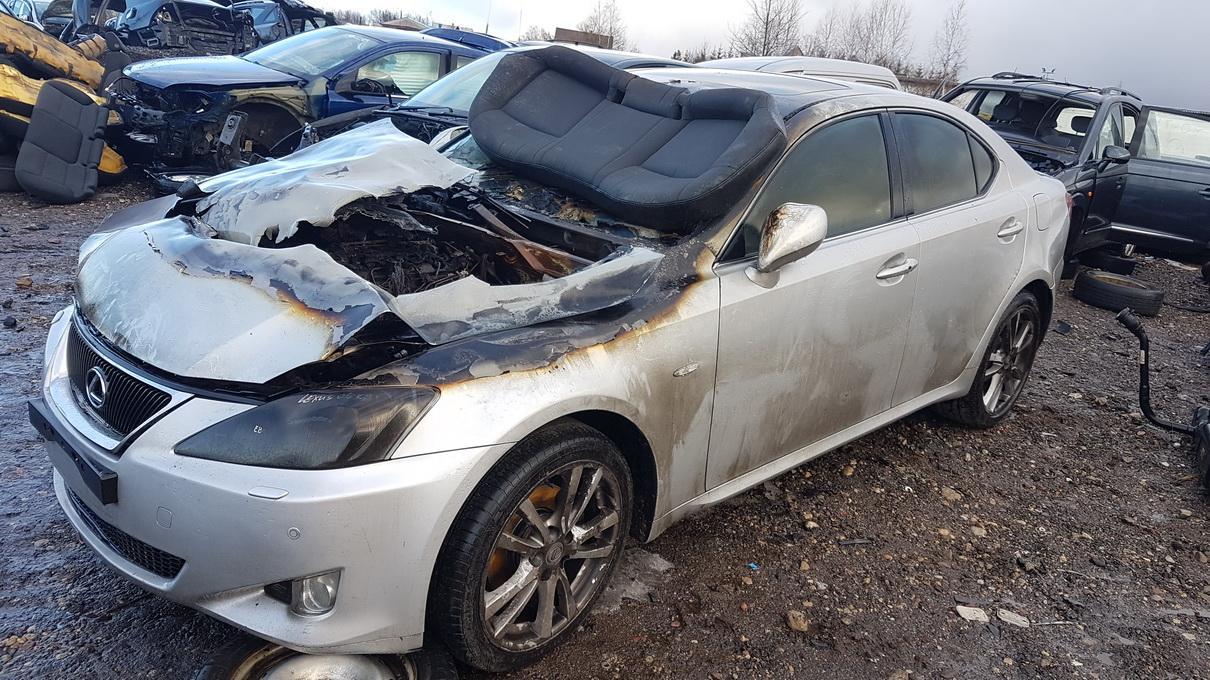 Naudotos automobilio dalys Lexus IS - CLASS 2006 2.2 Mechaninė Sedanas 4/5 d. Pilka 2017-2-23