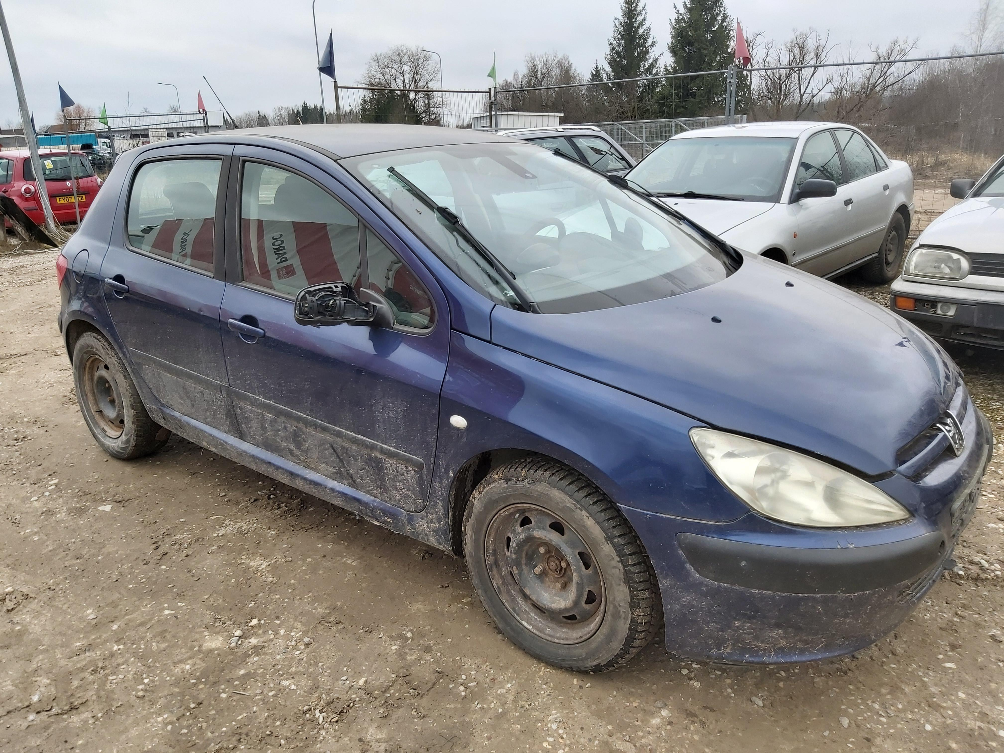 Peugeot 307 2001 2.0 машиностроение