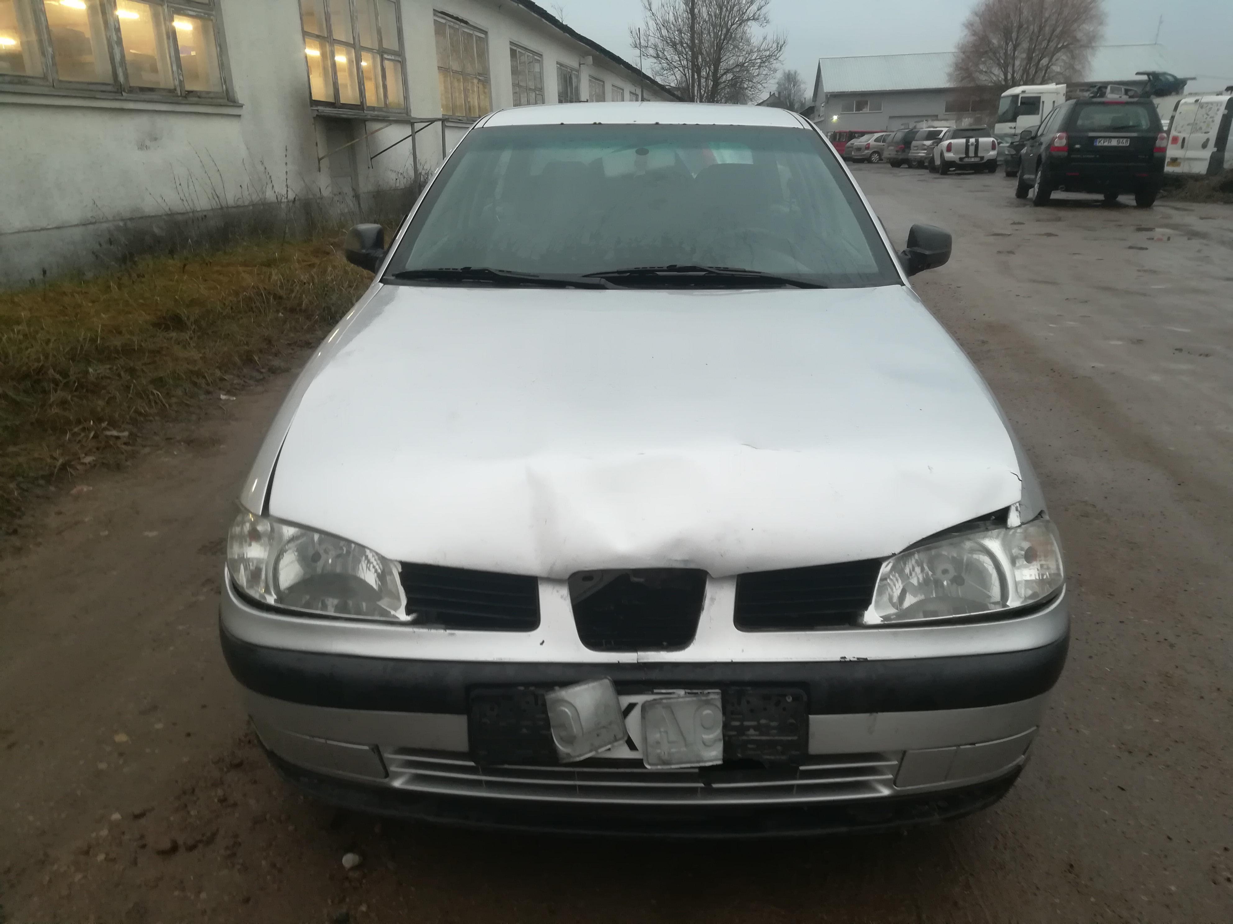 Naudotos automobilio dalys Seat IBIZA 2000 1.9 Mechaninė Hečbekas 2/3 d. Pilka 2019-12-05