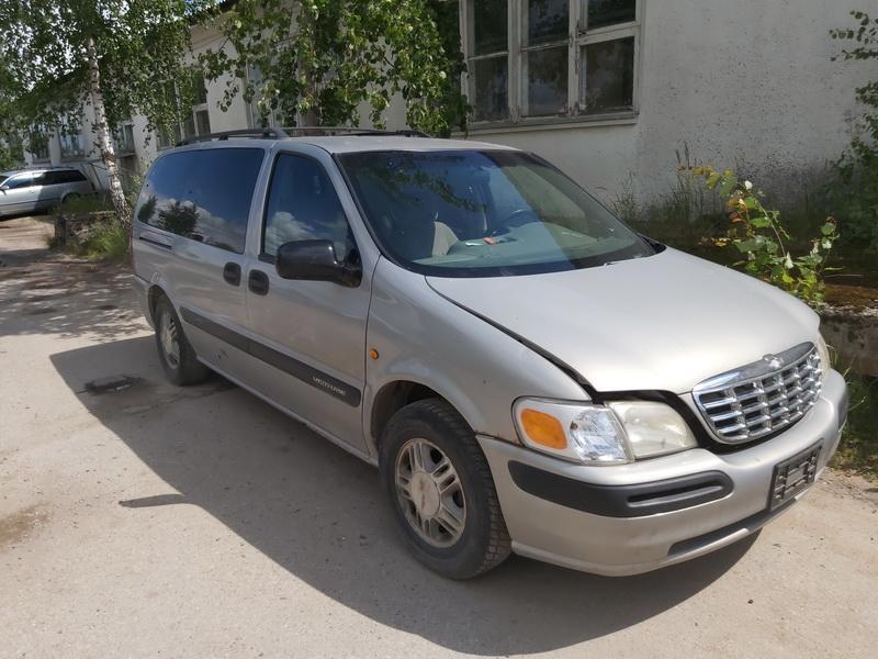 Naudotos automobilio dalys Chevrolet VENTURE 1999 3.4 Automatinė Vienatūris 4/5 d. Pilka 2020-7-28