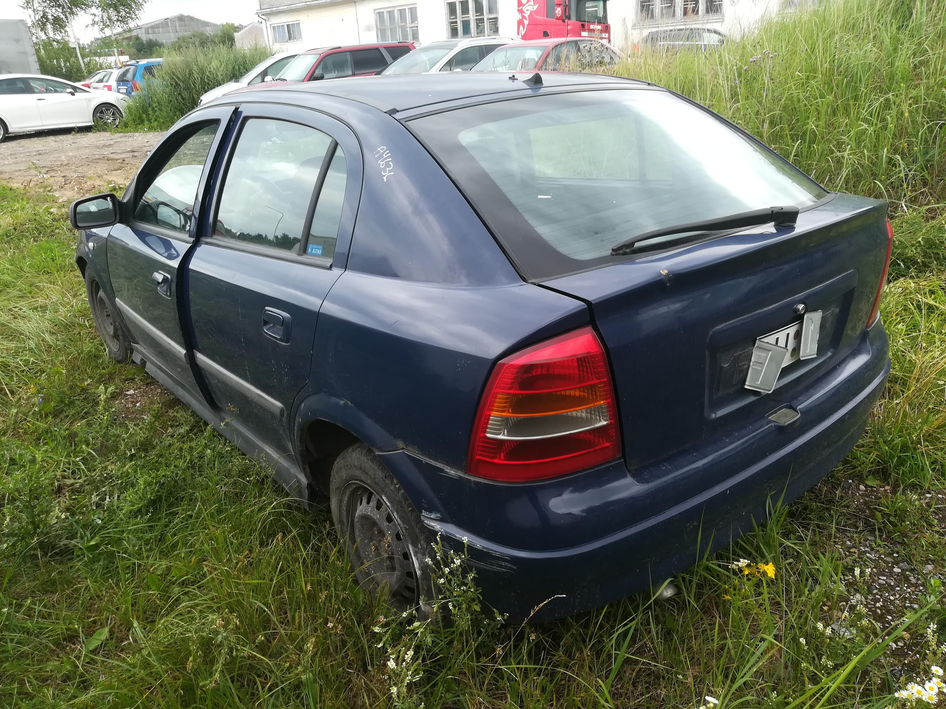 Naudotos automobiliu dallys Foto 7 Opel ASTRA 2001 1.7 Mechaninė Hečbekas 4/5 d. Melyna 2019-7-18 A4636