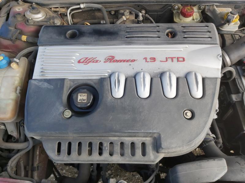 Naudotos automobiliu dallys Foto 2 Alfa-Romeo 156 2001 1.9 Mechaninė Universalas 4/5 d. Raudona 2020-9-30 A5697